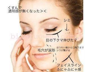 シワ たるみ シミ 毛穴 ほうれい線 クスミ  消す 即効方法 化粧品